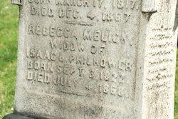Rebecca <i>Melick</i> Philhower