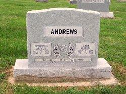 Mary Alberta Bertie <i>Bowers</i> Andrews