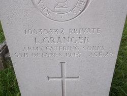 Pvt Lewis Granger