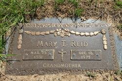 Mary T <i>Wolfgram</i> Reid