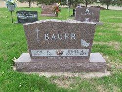 Ethel M <i>Nelson</i> Bauer
