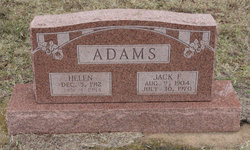 Jack F Adams