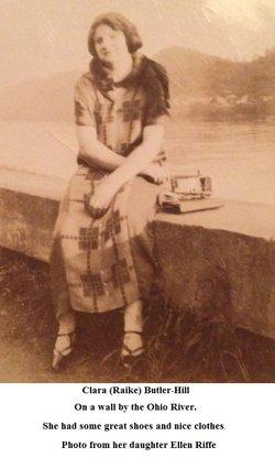Clara Belle <i>Raike-Butler</i> Hill