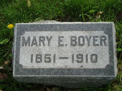 Mary Elizabeth <i>Miller</i> Boyer