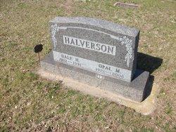 Opal M. <i>Bylund</i> Halverson