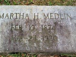 Martha Harriett <i>Alford</i> Medlin