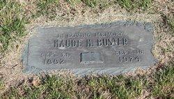 Maude Myrtle <i>Morris</i> Buster