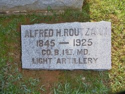 Pvt Alfred H. Routzahn
