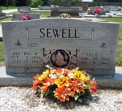 Lillie Marybelle <i>Curtis</i> Sewell