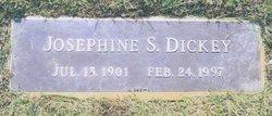 Josephine S Dickey
