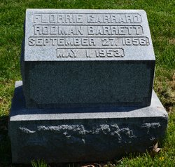 Florence Florrie <i>Garrard</i> Barrett