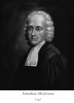 Rev Jonathan Dickinson
