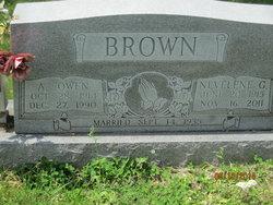 Nevelene Gladys <i>Davis</i> Brown