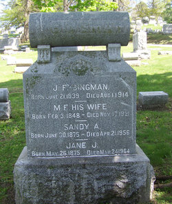 Mary Frances <i>Alexander</i> Bingman