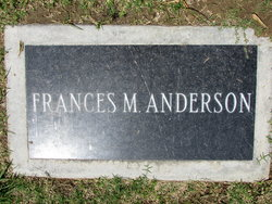 Frances May <i>Curtis</i> Anderson