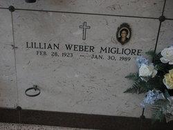 Lillian <i>Weber</i> Migliore