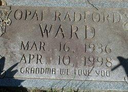 Opal <i>Radford</i> Ward