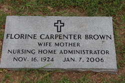 Florine <i>Carpenter</i> Brown