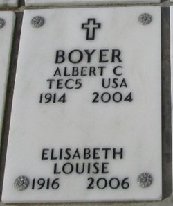 Albert C Boyer