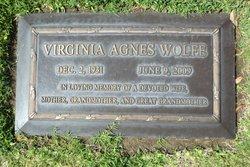 Virginia Agnes <i>McInnes</i> Wolfe