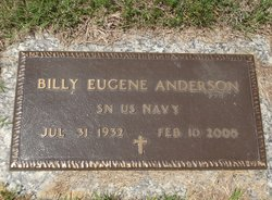 Billy Eugene Anderson
