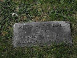 Mercy Mae <i>Kimball</i> Burroughs