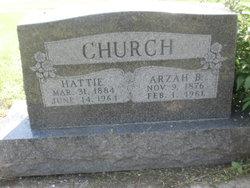 Hattie Leona <i>Fitzpatrick</i> Church