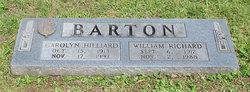 Carolyn Gardner <i>Hilliard</i> Barton