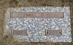 Emma <i>Gullingsrud</i> Foss