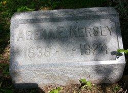 Arena Ellen <i>Mote</i> Kersey