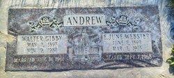 Ethel June <i>Webster</i> Andrew