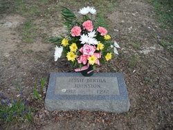 Jesse Bertha <i>Green</i> Johnston