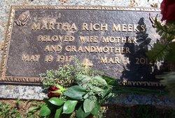 Martha Aretta <i>Rich</i> Meeks