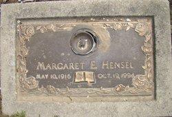 Margaret Elizabeth <i>Finch</i> Hensel