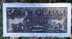 Sarah Gilliam Craig