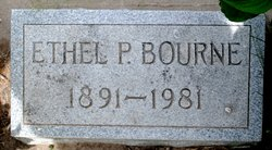 Ethel P. <i>Clark</i> Bourne