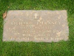 PFC Richard J Franey