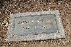 Maude B <i>McKinney</i> Boswell