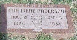Ada Irene Anderson
