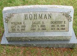 Dorothy E. Hohman