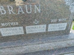 Thelma K. <i>Woodfill</i> Braun