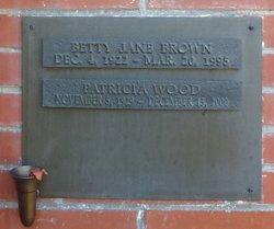 Betty Jane Brown