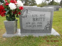 Lou Mae <i>Callender</i> Britt