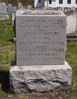 Louisa <i>Andrus</i> Allen