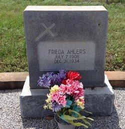 Frieda Ahlers