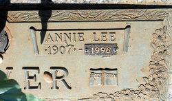 Annie Lee <i>Greer</i> Oliver