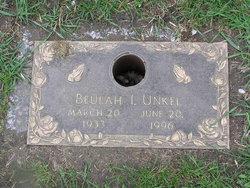 Beulah <i>Hook</i> Unkel