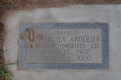 Dr Harold V Andersen