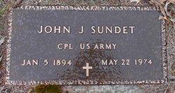 John Johan Sundet
