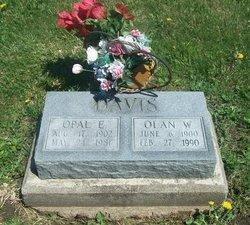 Opal E. <i>Snell</i> Davis